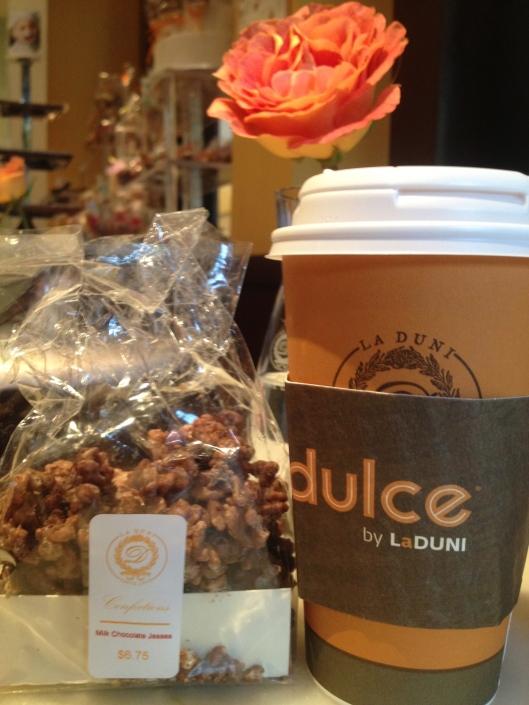 La Duni and gluten-free chocolate crispy treats